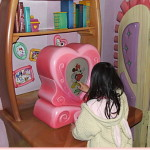 ミニー家の微妙な隠れミッキー